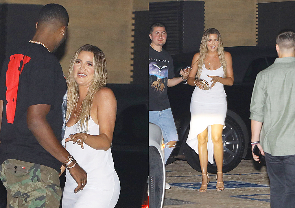 PHOTOS | June 24, 2017 – Khloe Kardashian & Tristan Thompson at Nobu in Malibu