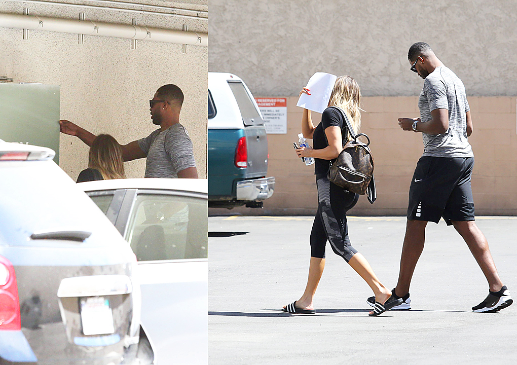 PHOTOS & VIDEO | July 03, 2017 – Khloe Kardashian & Tristan Thompson arrive at the Inner Health Center