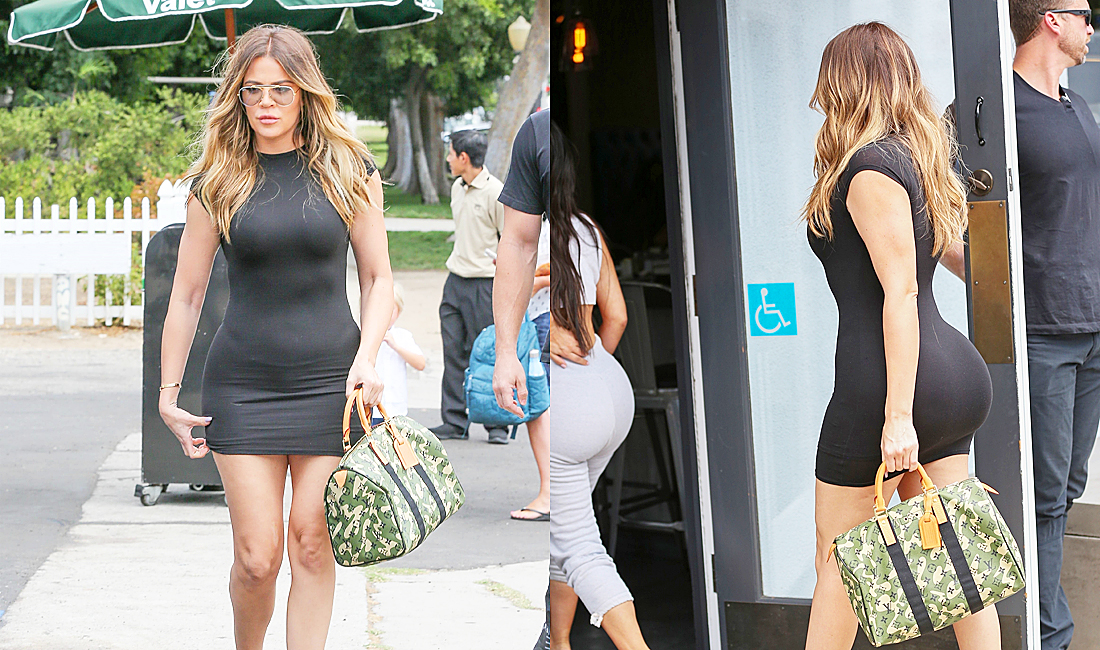 PHOTOS & VIDEO | July 25, 2017 – Khloé Kardashian lunch at Stanley's in Sherman Oaks