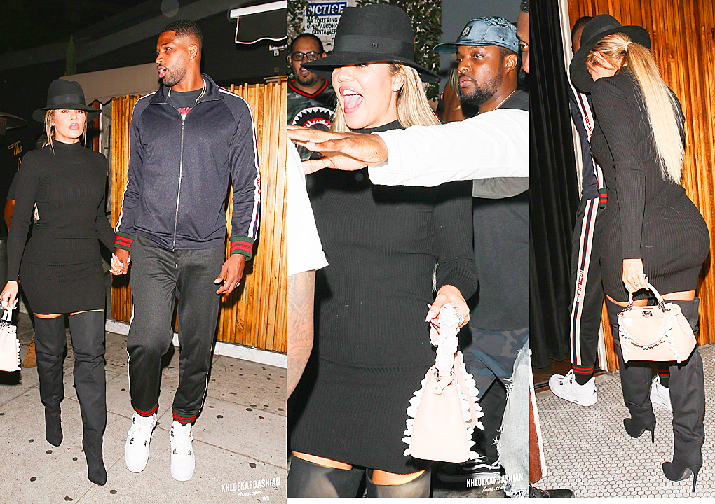 PHOTOS & VIDEO | July 06, 2017 – Khloe Kardashian & Tristan Thompson Enjoy Date Night at The Nice Guy