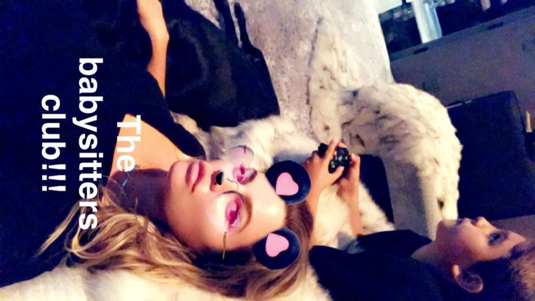 |SNAPCHAT| Khloe Kardashian | August 04, 2017 | At home