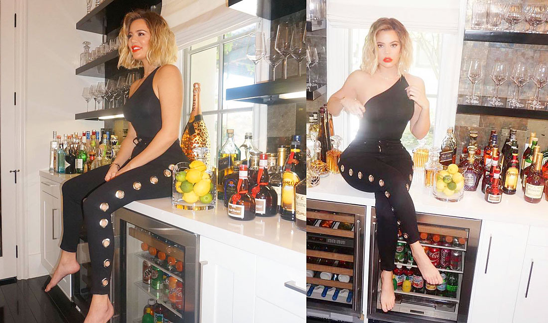 INSTAGRAM | PHOTOS – Khloé at home in Calabasas