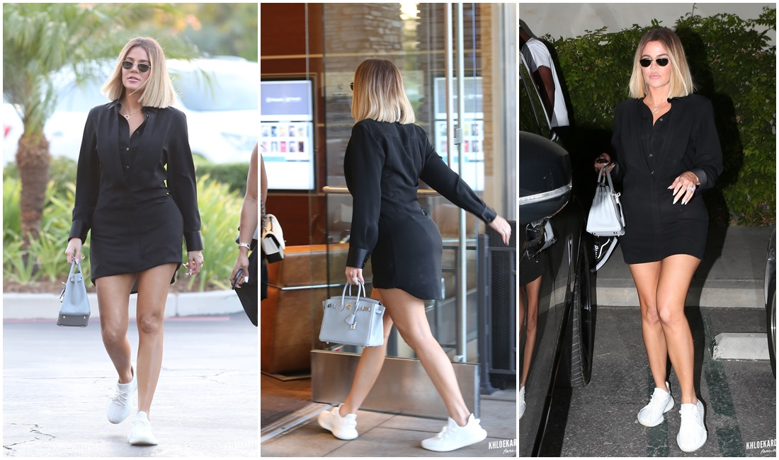 PHOTOS & VIDEO | August 10, 2017 – Khloé Kardashian arriving at the Cinépolis Luxury Cinemas Westlake Village