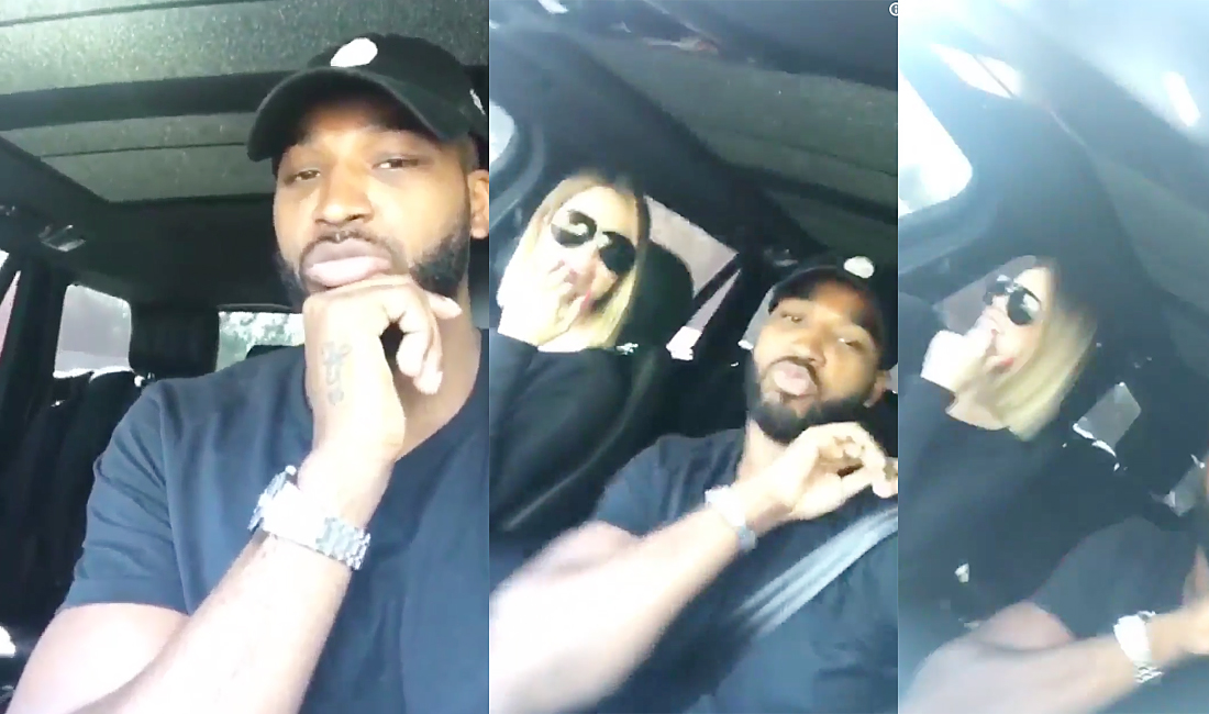 INSTAGRAM & SNAPCHAT | Khloe Kardashian | August 30, 2017 | with Tristan Thompson
