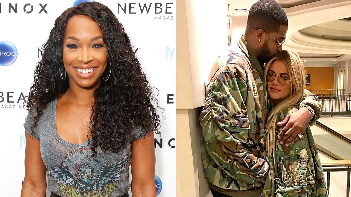 'It's nice to see the family getting bigger': Malika Haqq talks about the Kardashians' expanding brood as BFF Khloe's pregnancy is 'CONFIRMED'