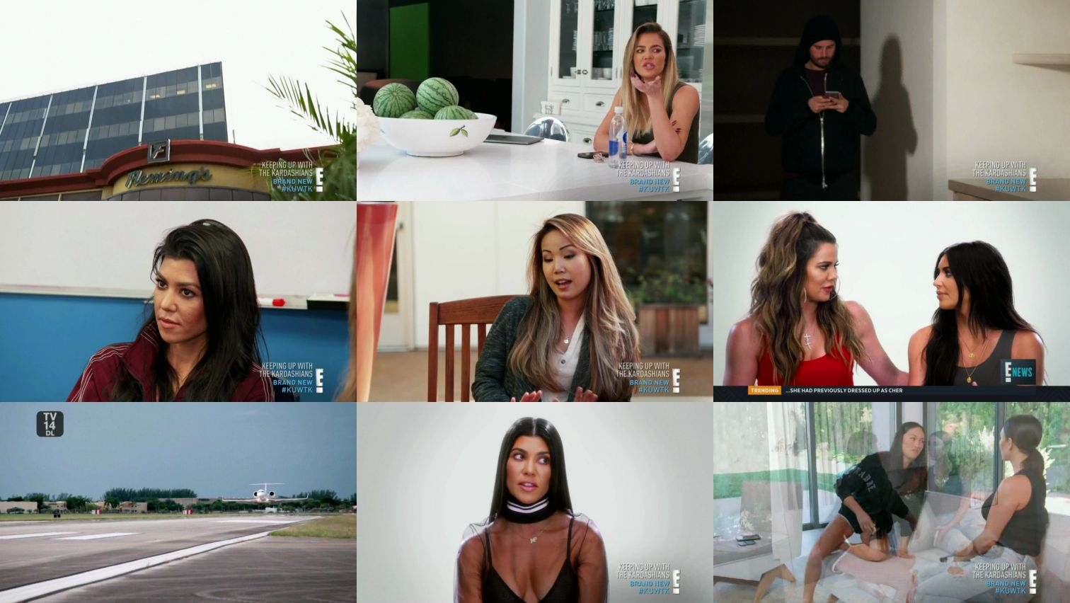 Keeping Up With The Kardashians – Episode 14.05 Catch Me If You Cannes  – Video streaming, Caps & Ratings