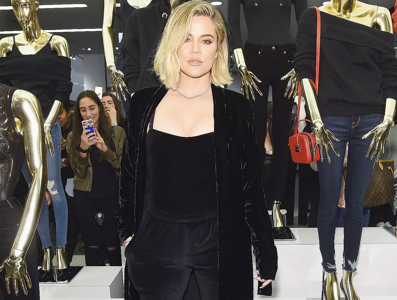 PHOTOS & VIDEO | October 28, 2017 – Good American and Khloe Kardashian Celebrate Bloomingdale's  Collaboration