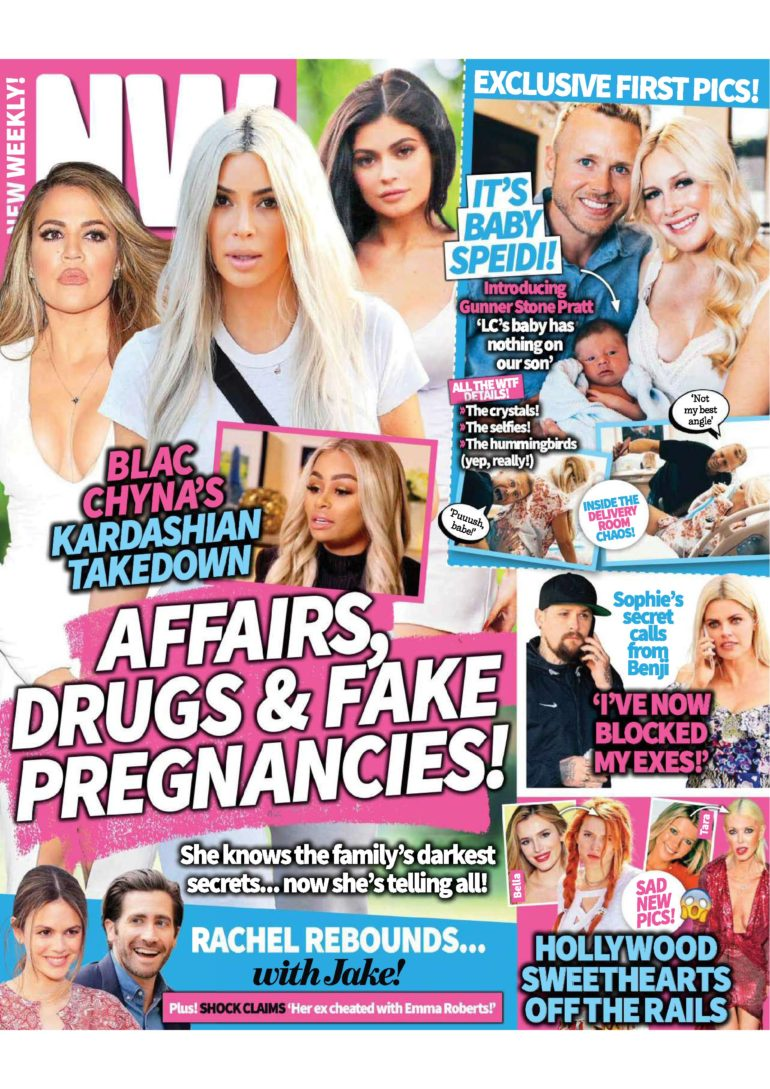 khloe kardashian tabloid