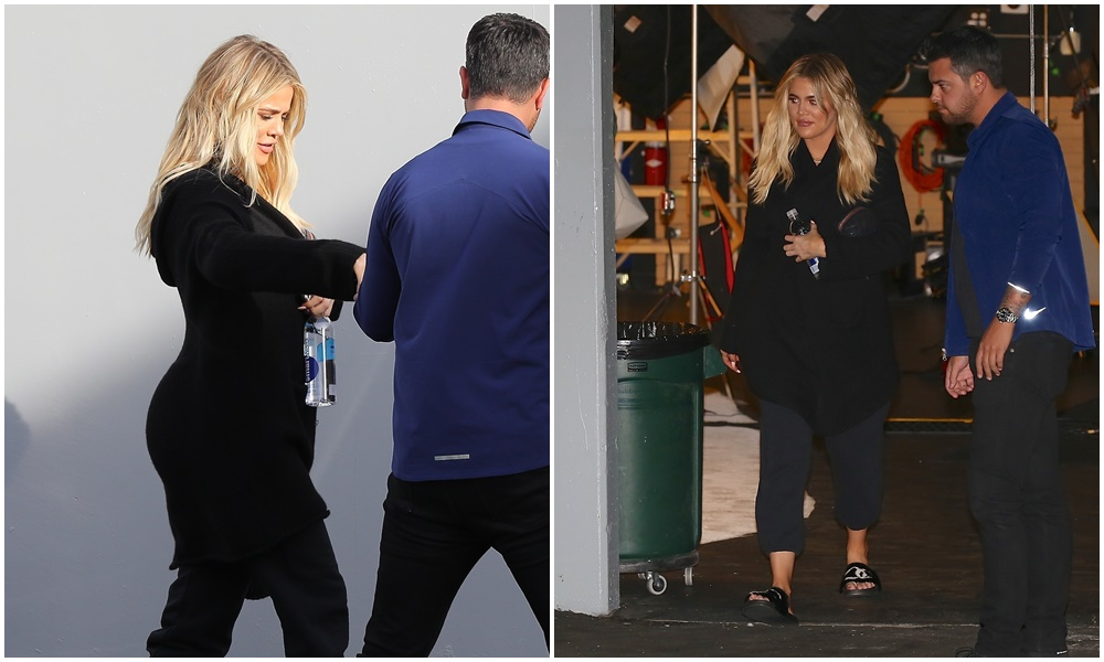PHOTOS | November 13, 2017 – Khloe Kardashian at the Independence Studio in Woodland Hills