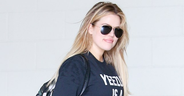Khloe Kardashian is back working out after trolls slammed her for exercising while pregnant