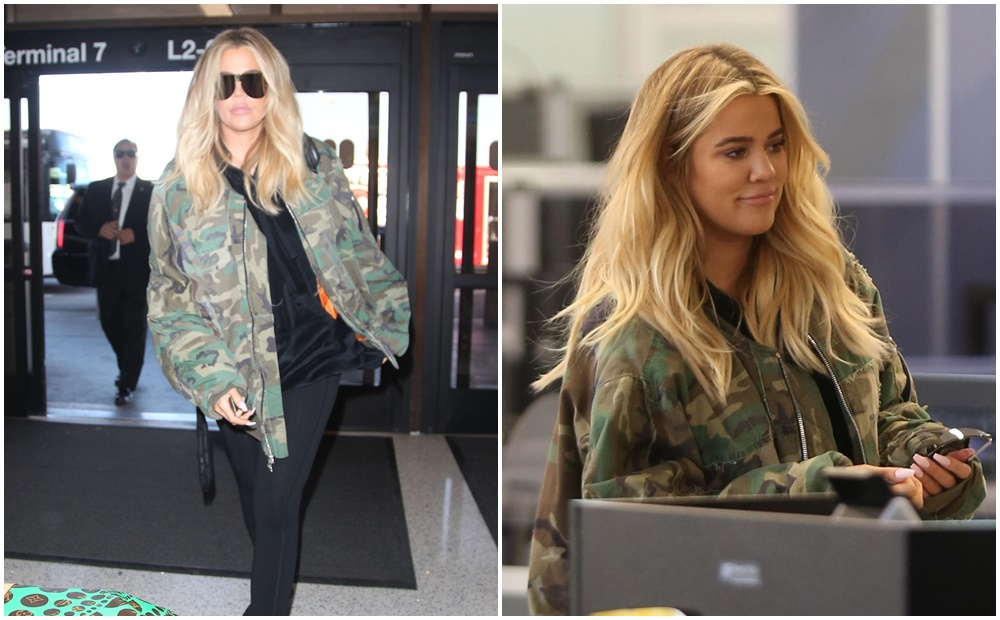 PHOTOS & VIDEOS | December 08, 2017 – Khloe Kardashian at Lax airport in Los Angeles