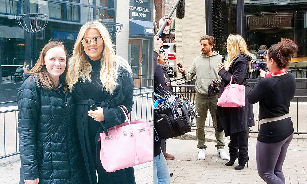 (PHOTOS) March 15, 2018: Khloé Kardashian and Scott Disick out in Cleveland