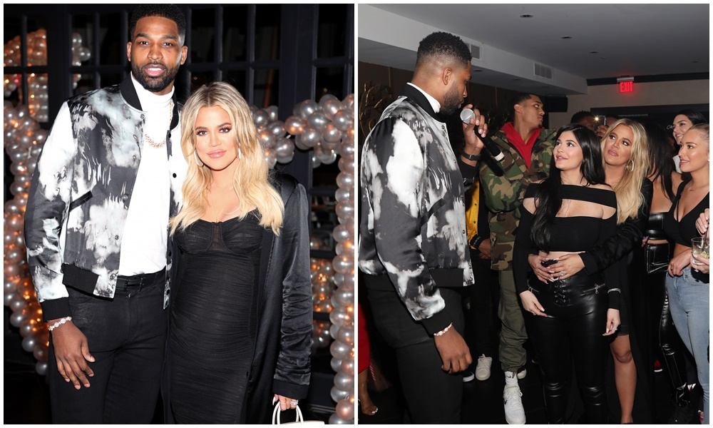 (PHOTOS+VIDEO) March 10, 2018: Khloe Kardashian Celebrates Tristan Thompson's B-Day After Baby Shower