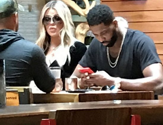 (PHOTOS+VIDEO) May 04, 2018: Khloe Kardashian & Tristan Thompson Spotted Together For First Time