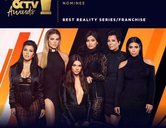 KUWTK TV show is nominee at MTV movie awards 2018!