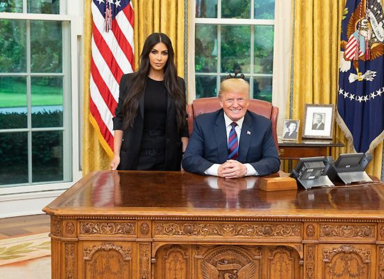 (VIDEO) Kim Kardashian talks About Khloe During White House Visit With Donald Trump