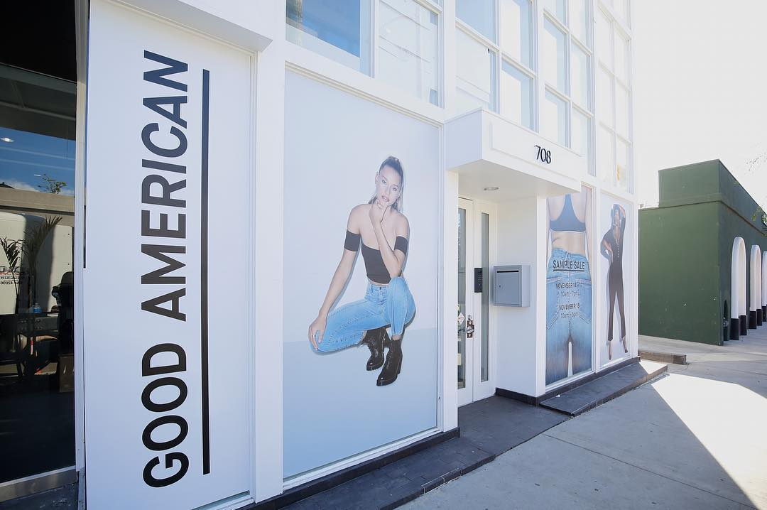Good American sample sale is open in West Hollywood