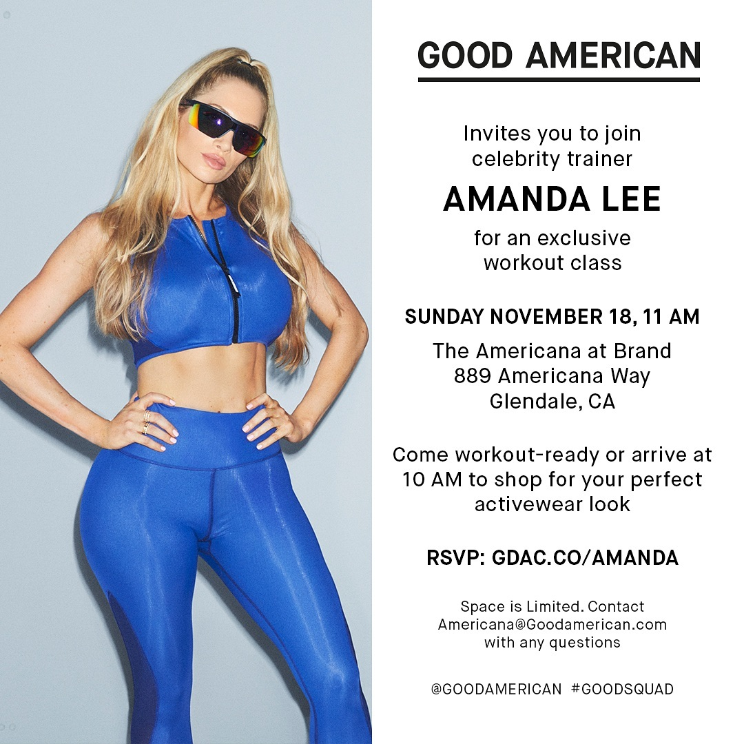 Khloe Kardashian Fansite goodamerican_43817684_296268981226322_5187776150655125897_n Good American's Denim and Activewear For All Curves Are Popping Up in Glendale