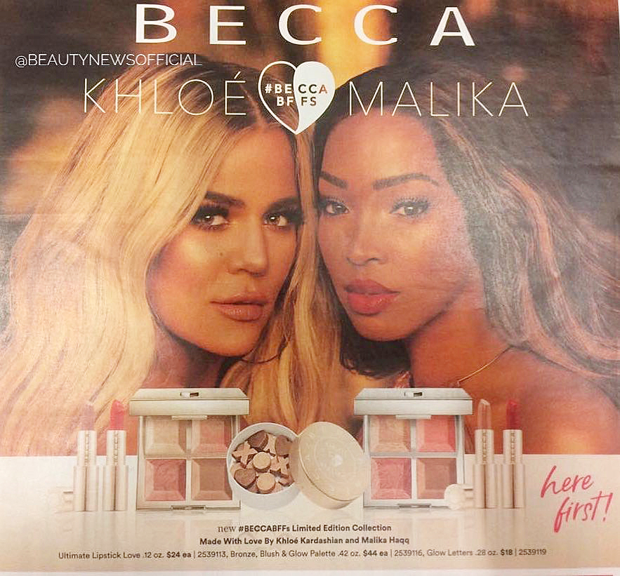 Khloé Kardashian & Malika Haqq are Collaborating With Becca and Just Shared a Sneak Peak