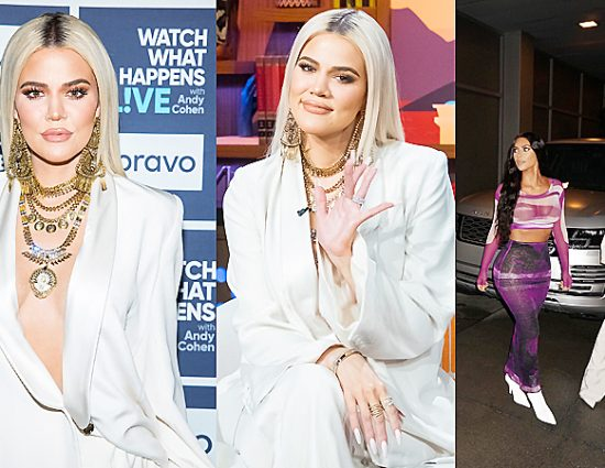 FULL VIDEO: Watch What Happens Live  interview Khloe, Kim and Kourtney Kardashian – January 14, 2019