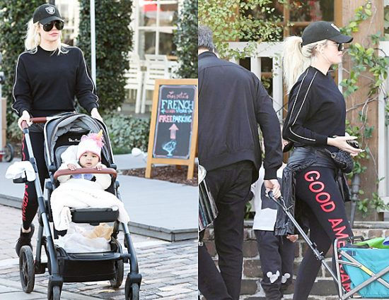 (PHOTOS) January 26, 2018: Khloé Kardashian at the farmer market in Calabasas