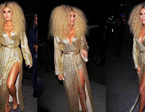 ALL DETAILS: Khloé Kardashian at Diana Ross's 75th bithday party