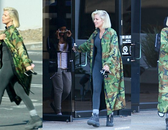 (PHOTOS+VIDEO) March 24, 2019: KHLOE & MALIKA LEAVING KANYE WEST'S OFFICE IN CALABASAS