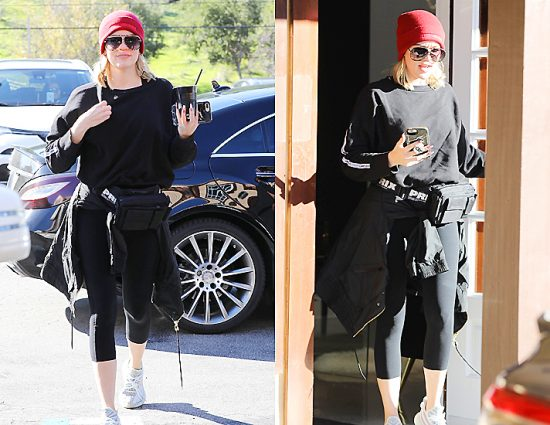 (PHOTOS) March 09, 2019: Khloé Kardashian at Sev Laser in Calabasas