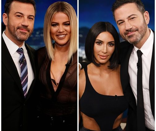 FREE TICKETS:  Kim, Kourtney and Khloé will be on Jimmy Kimmel Live! in Las Vegas in April