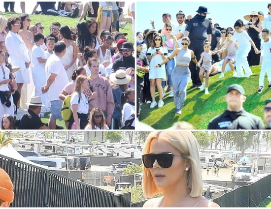 (PHOTOS+VIDEO) April 21, 2019: Khloé Kardashian at Coachella