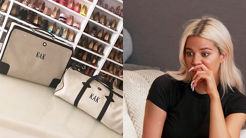 Khloe Kardashian gifted 'KAK' bag and South Africa tweeps can't stop laughing