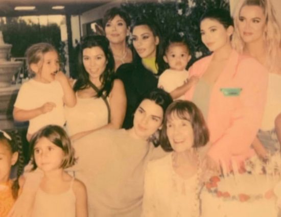 Kardashians Shower Their Grandma MJ With Love on 84th Birthday