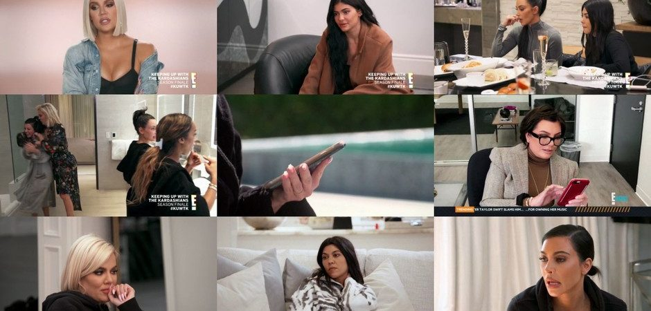 Keeping Up With The Kardashians – Episode 16.12  Treachery – Video streaming, Caps & Ratings