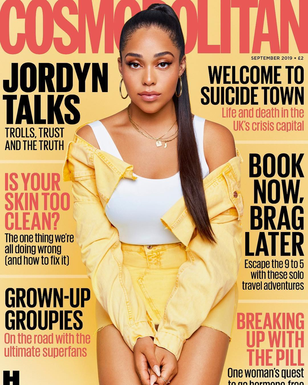 Cosmopolitan Sept 2019: Everything Jordyn Woods Said About Tristan, Khloe, Kylie