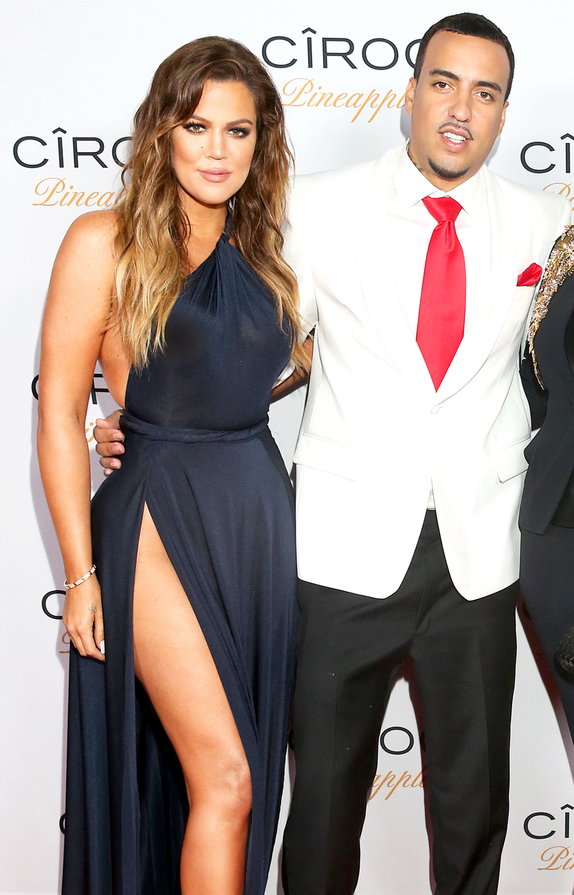 "Khloe Kardashian Is ""Worried"" But ""in Touch"" With Ex French Montana Amid Hospitalization"