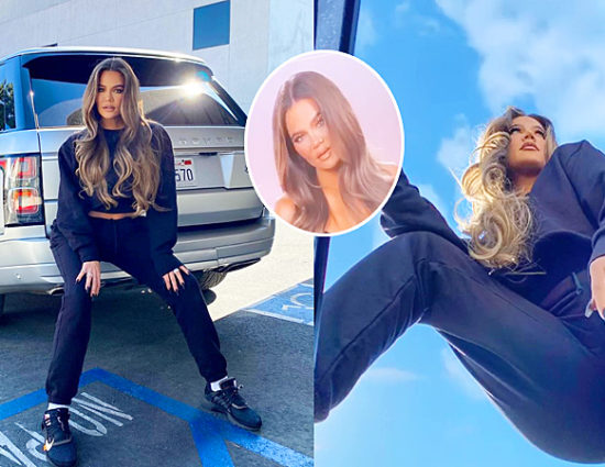 October 16, 2020: Khloé Kardashian at the studio for KUWTK interview