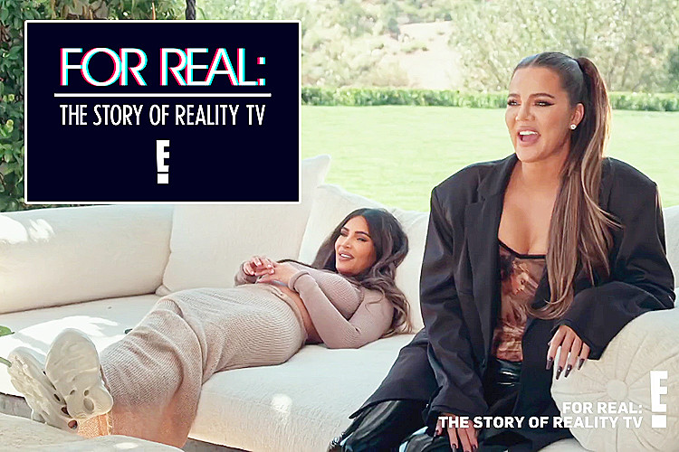 """Khloe Kardashian Fansite for-real- SNEAK PEAK: Khloé, Kim and Kourtney will be on """"For Real: The Story of Reality Tv"""""""