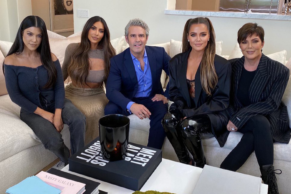 Khloe Kardashian Fansite andy-cohen-hosts-kuwtk-reunion Andy Cohen Gives SNEAK PEEK At 'KUWTK' Reunion