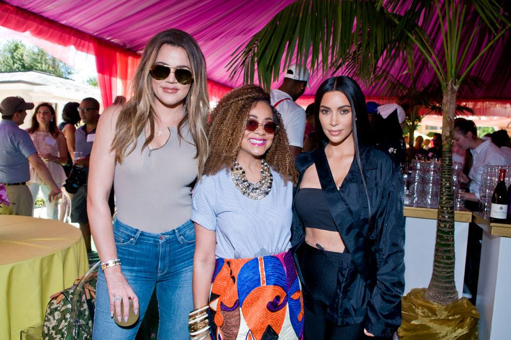 PHOTOS | July 22, 2017 – Khloé Kardashian, Kim Kardashian and Tristan Thompson at the annual CEO Barbecue hosted by the Horowitzs in San Francisco