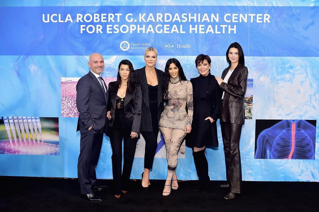 Khloe Kardashian Fansite esrailian_56162972_2298382000440188_3934272968168289559_n ALL DETAILS about the  Kardashians help open UCLA health center named after late father