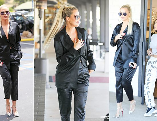 (PHOTOS+VIDEO) May 28, 2019: Khloé Kardashian out and about in Calabasas