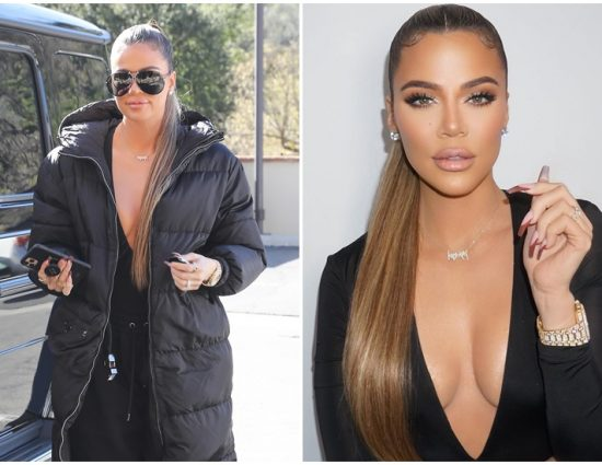 (PHOTOS & VIDEOS) February 5:  Khloe Kardashian at Sev Laser