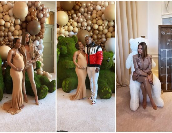 ALL DETAILS: Khloé Kardashian Attends Malika Haqq's Bear-Themed Baby Shower