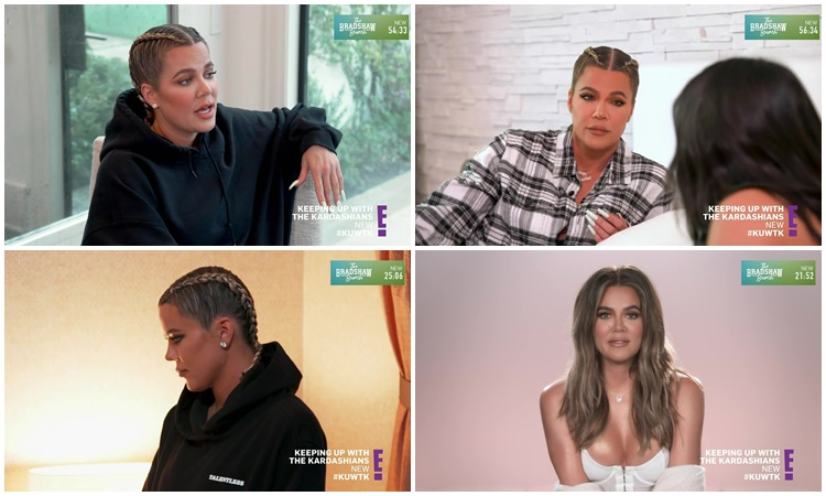 Khloe Kardashian Fansite KUWTK-S19 Keeping Up With The Kardashians – EPISODE 19.05 – Sister, Sister and a Babymoon – Video streaming, Caps & Ratings