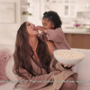Khloe Kardashian Fansite ad-koko.mp466-290x290 (VIDEO)True Thompson Makes Her Commercial Debut in Nurtec Ad with Mom Khloé Kardashian