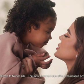 Khloe Kardashian Fansite ad-koko.mp470-290x290 (VIDEO)True Thompson Makes Her Commercial Debut in Nurtec Ad with Mom Khloé Kardashian