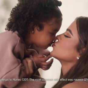Khloe Kardashian Fansite ad-koko.mp472-290x290 (VIDEO)True Thompson Makes Her Commercial Debut in Nurtec Ad with Mom Khloé Kardashian